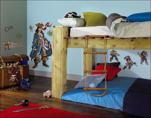 Úpravy a zariadenie detskej izby