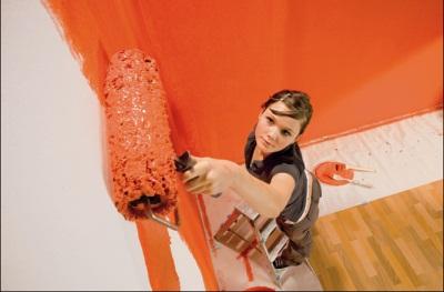 Maľovanie stien a stropov