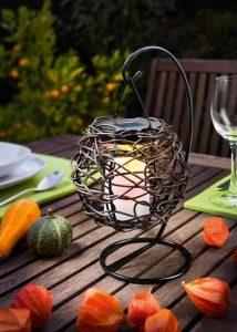 Stolová solárna lampa Korfu 1